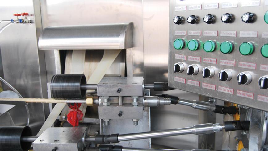 Full automatic Multifunctional Wafer stick Machine