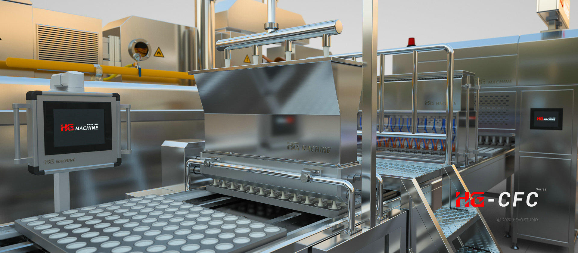 Foreign media selected five new food machinery products