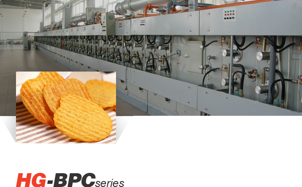 Full automatic Baked Potato Chips Production Line