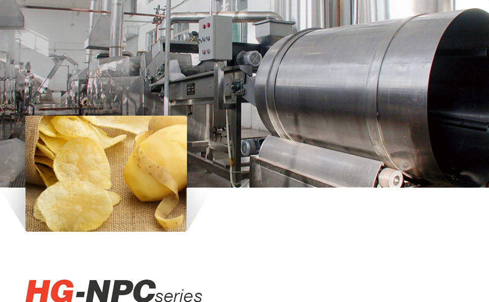 Natural Potato Chips Production Line
